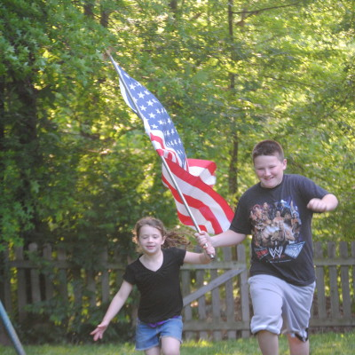 Munchkins, Flags, Flesh Eating Bacteria, Road Rash and Memorial Day.