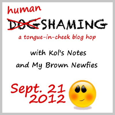 Human Shaming. A Tongue-in-Cheek Blog Hop Coming Soon!