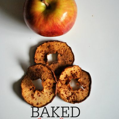 Baked Apple Chips For Dogs. So Easy, So Good, So Healthy!