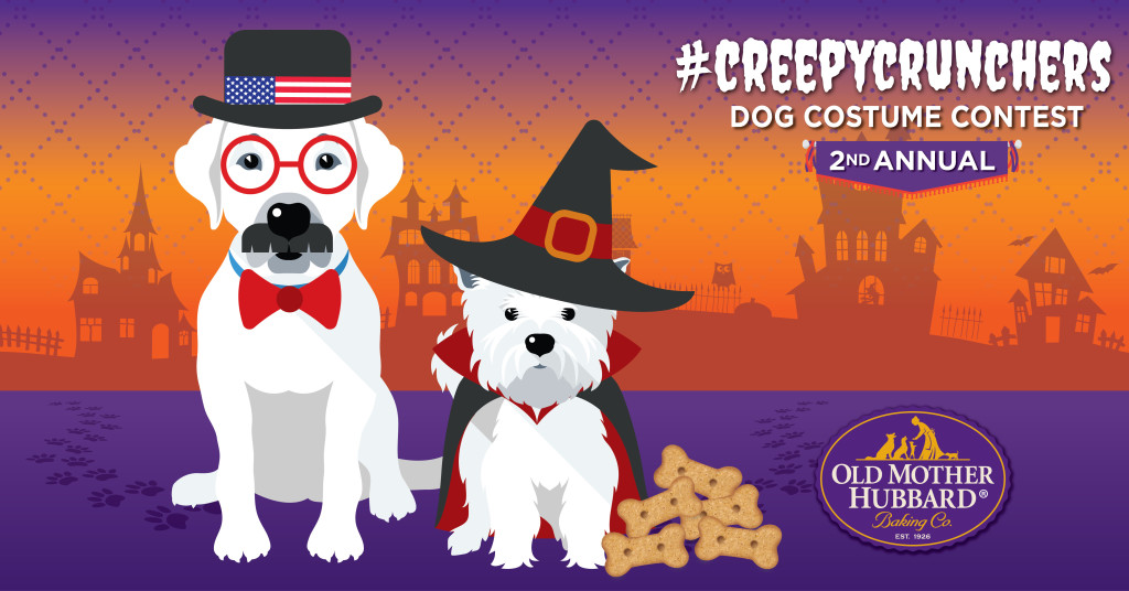 Old Mother Hubbard #CreepyCrunchers Dog Costume Contest