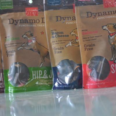 Dog Treats With A Purpose. Dynamo Dog Functional Treats.