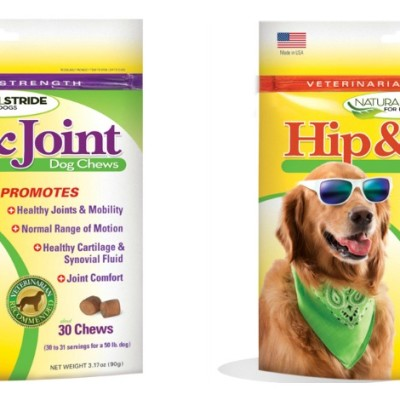 Dog Joint Supplements Are Serious Business Around Here. #NaturalStride