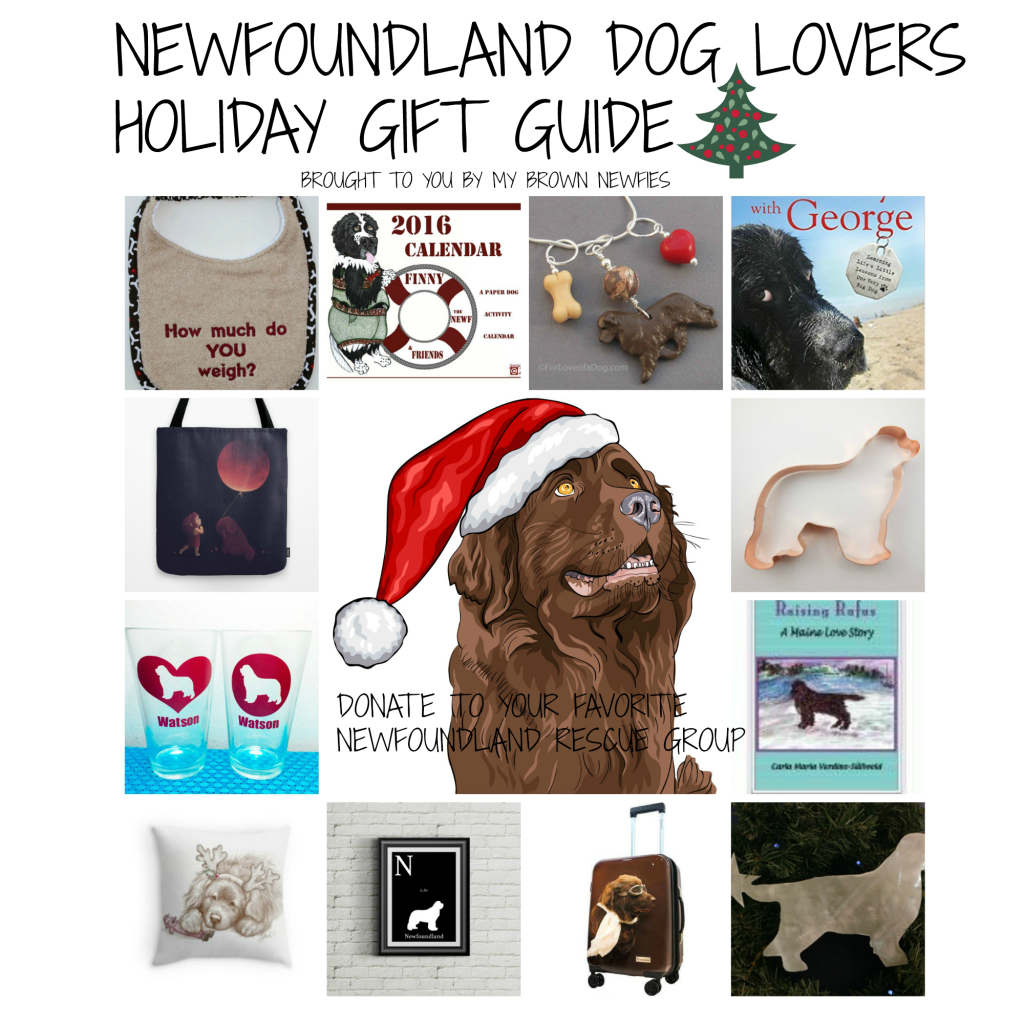 Newfoundland Dog Lovers Holiday Gift Guide