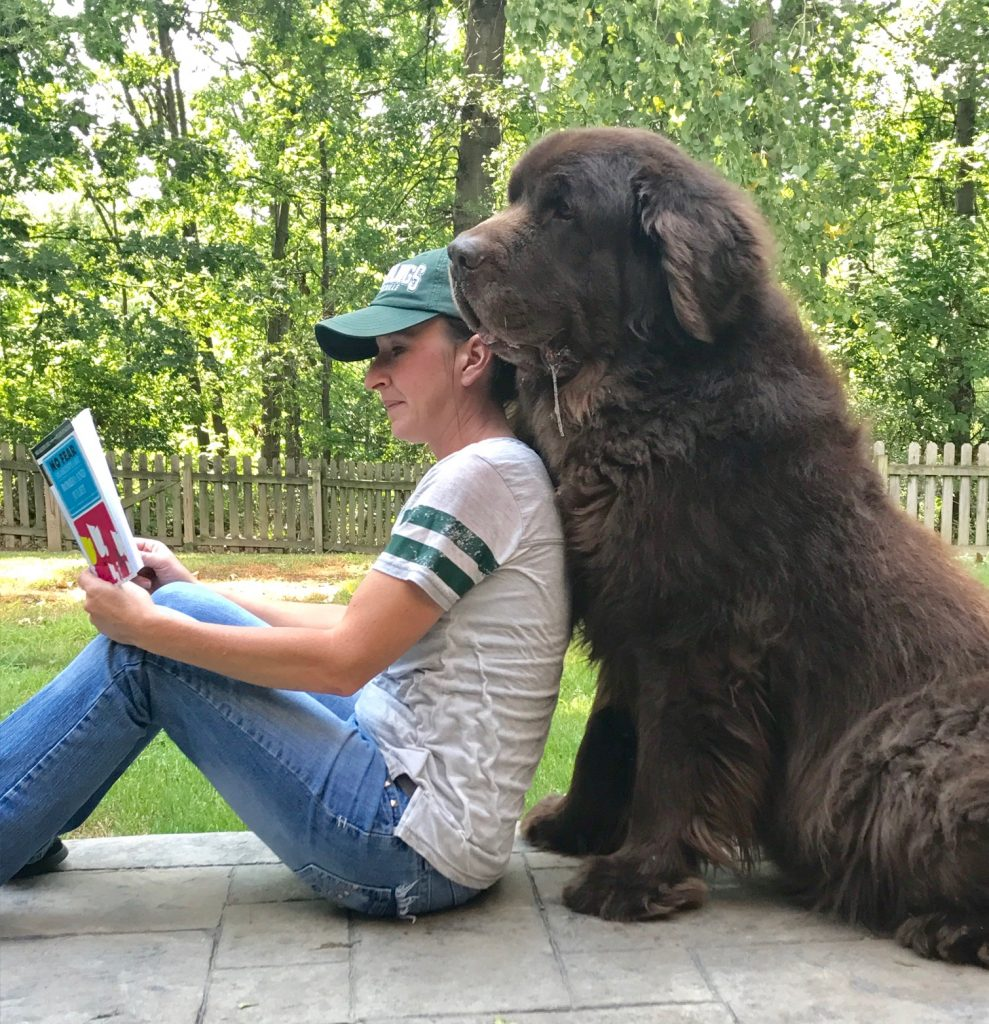 Dog Rug To Catch Dirt: 15 Reasons Why Newfie Moms Rock