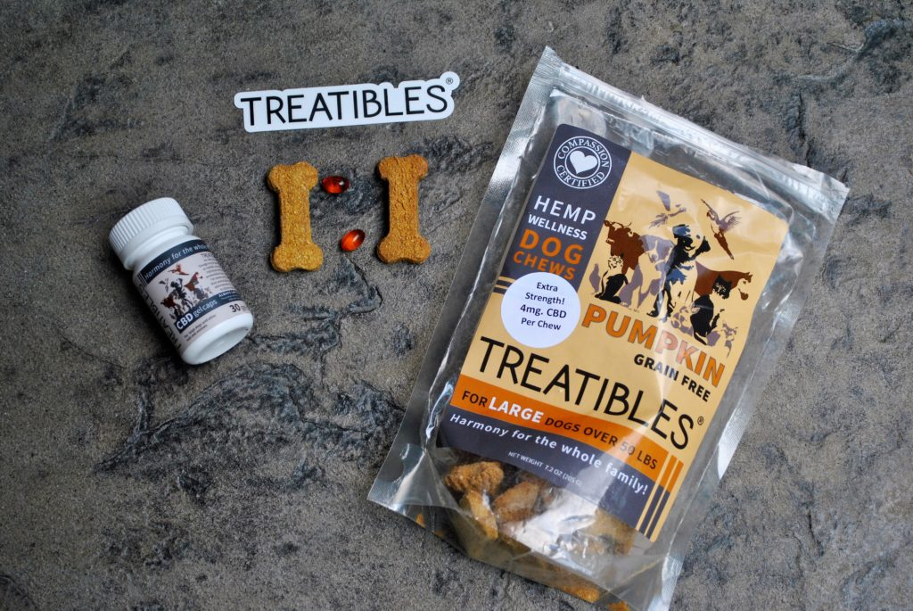 CBD Gel Capsules And Hemp Chews For Big Dogs: Treatibles Review