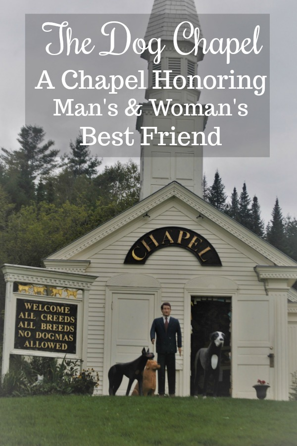 The Dog Chapel In Vermont On Dog Mountain