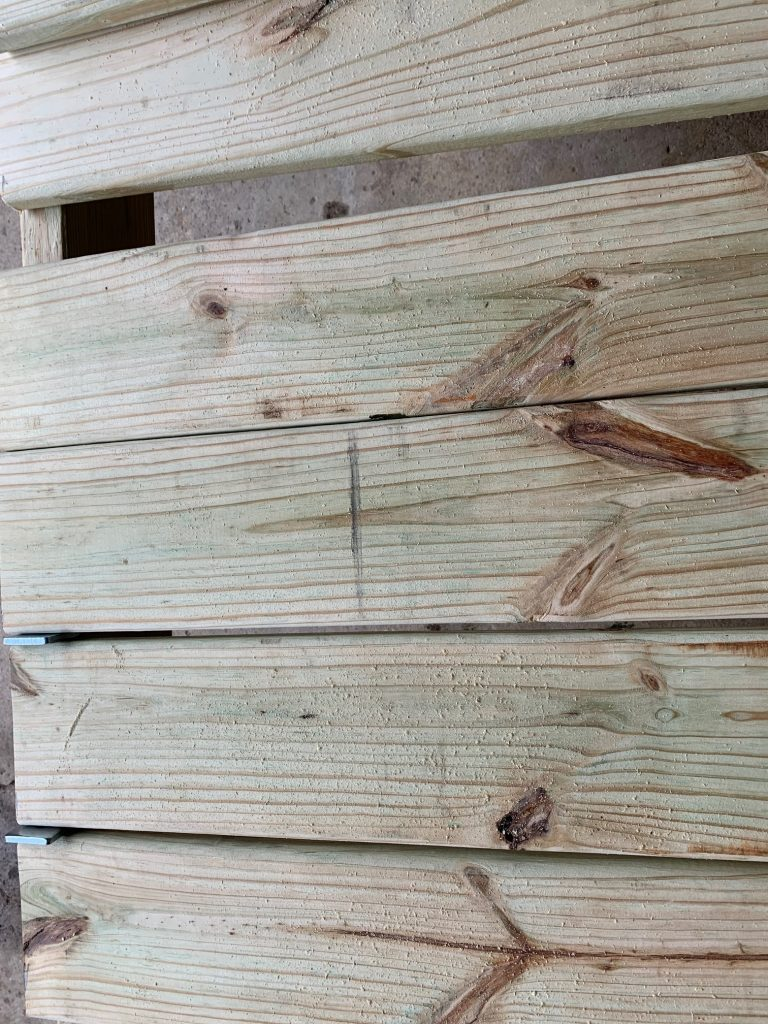 deck boards for DIY dog grooming table