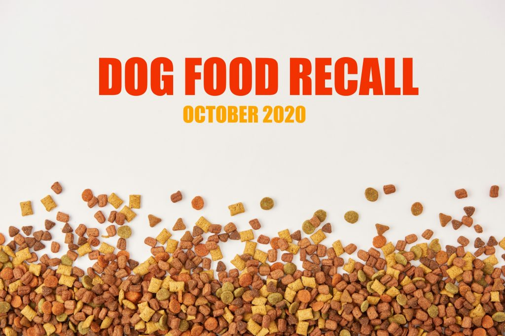 dog food recall 2020
