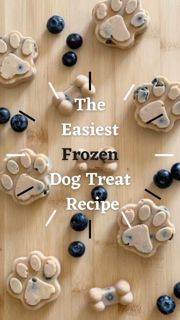 the easiest frozen dog treat recipe